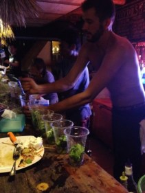have a few mojitos...