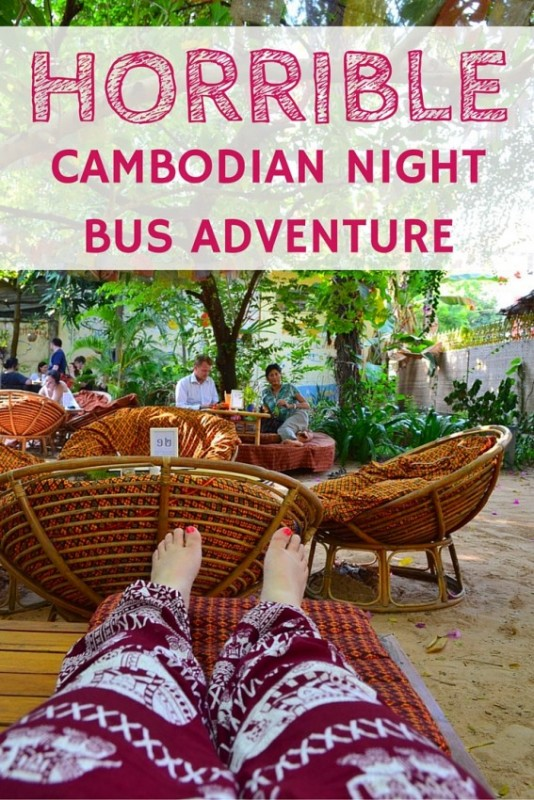 My epically horrible Cambodian night bus adventure
