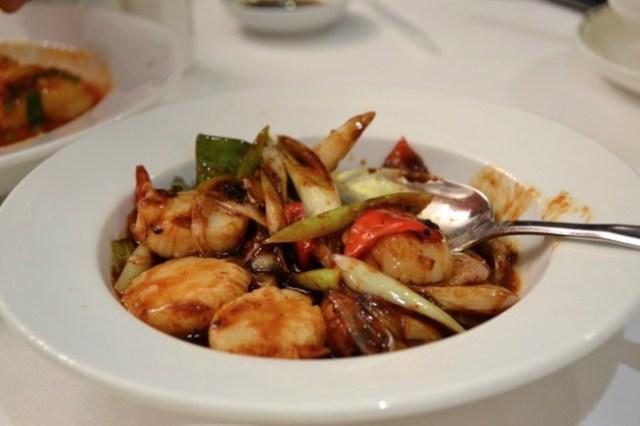 Chinese scallops