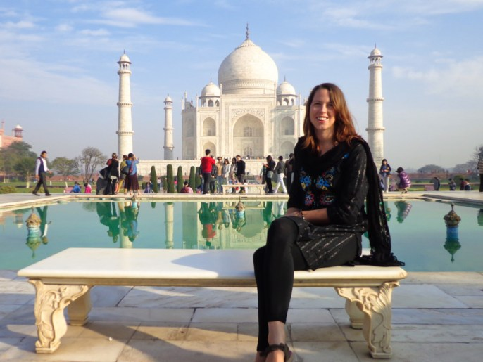 Anna from Global Gallivanting: Traveling India as a Woman