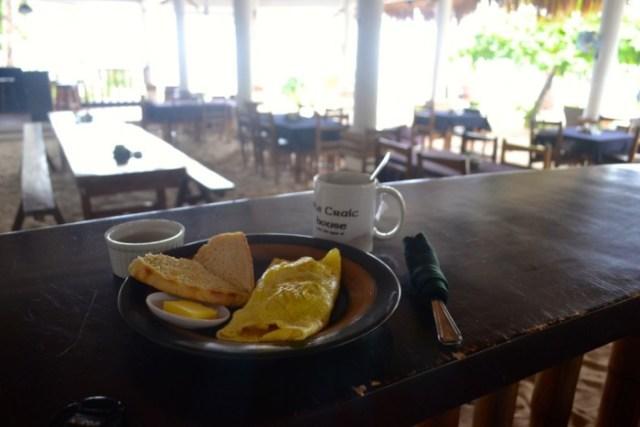 Craic House breakfast