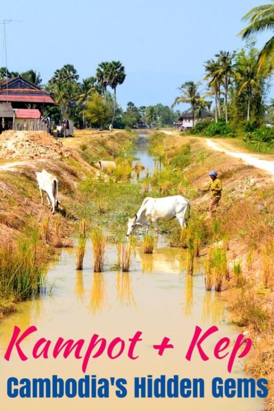 Cambodia's hidden gems Kampot and Kep