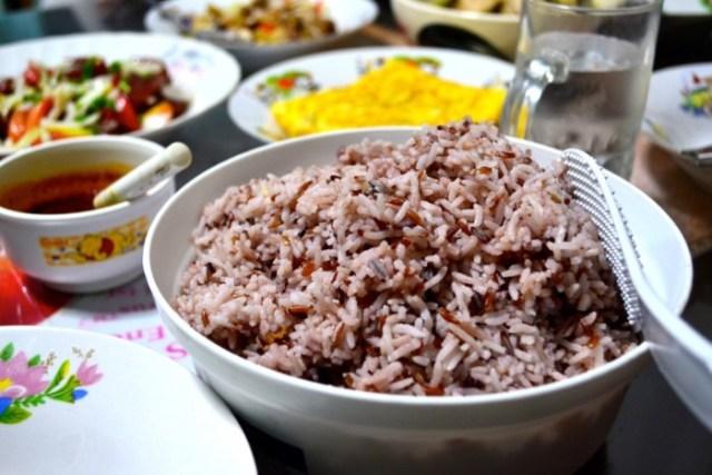 Bangkok homestay rice