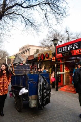 Beijing shopping hutong