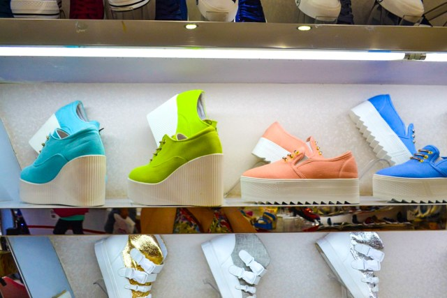 Chinese platform shoes