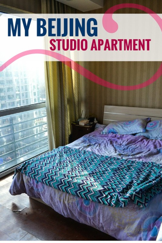 Living in a Beijing studio apartment