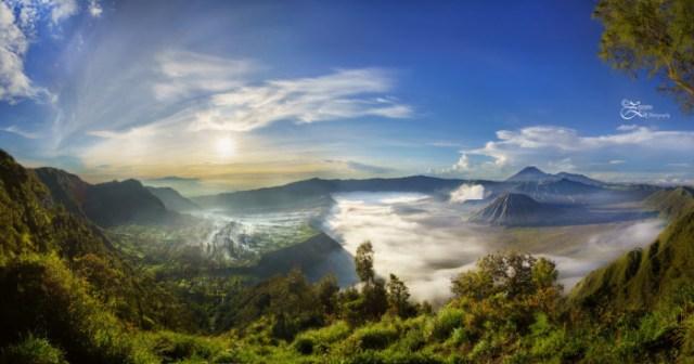 Mt. Bromo panorama