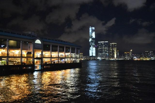 Hong Kong ferry terminal