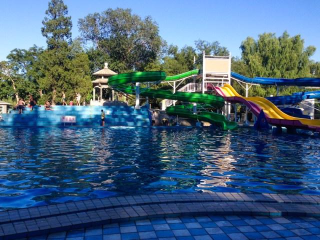Andingmen pool