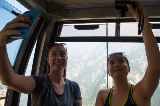 Hua Shan cable car