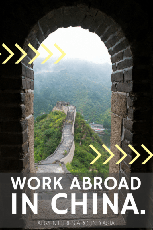 Work abroad in China