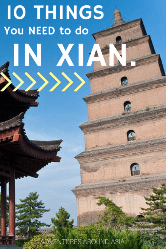 10 Things to Do in Xi'an