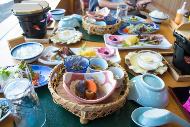 ryokan breakfast