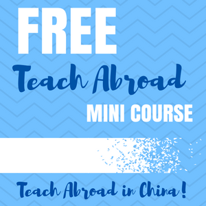 Teach Abroad Mini Course
