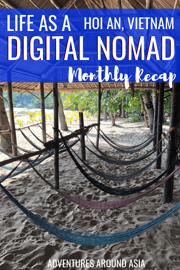 The life of a location independent digital nomad in Vietnam! Heres what its like to be a travel blogger in Hoi An! #travelblog #digitalnomad #hoian #vietnam #blogger #travel