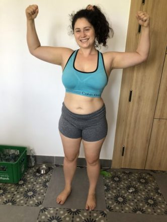 Strength training travel
