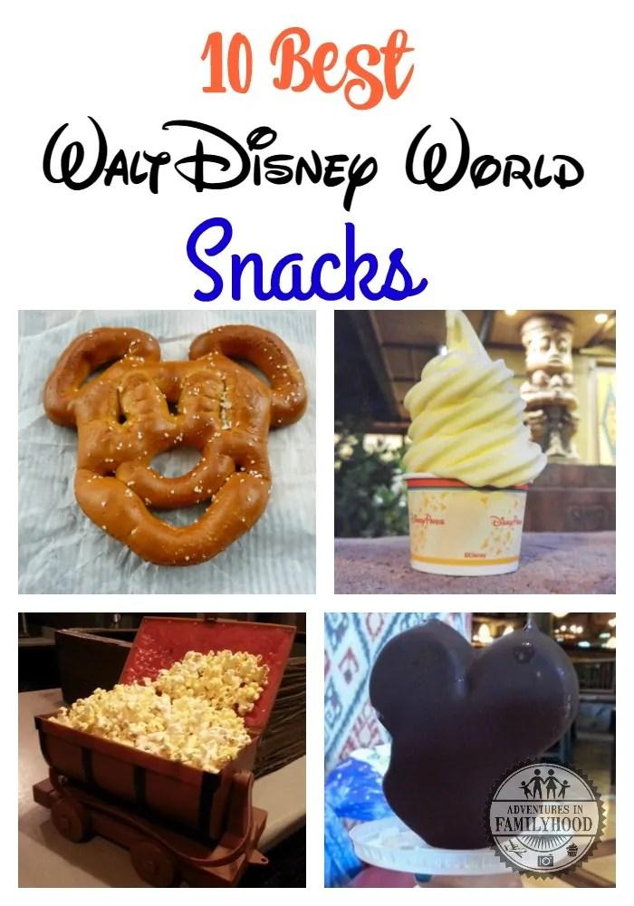 What are our 10 Best Walt Disney World snacks? | Disney Snacks | Disney Food