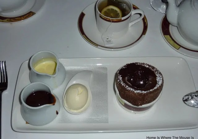 Palo's Chocolate Soufflé