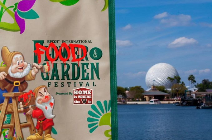 Our Favorite Outdoor Kitchens at the Epcot Flower and Garden Festival