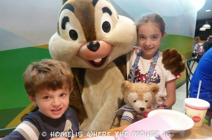 Chip 'N' Dale's Harvest Feast – Garden Grill Character Dining