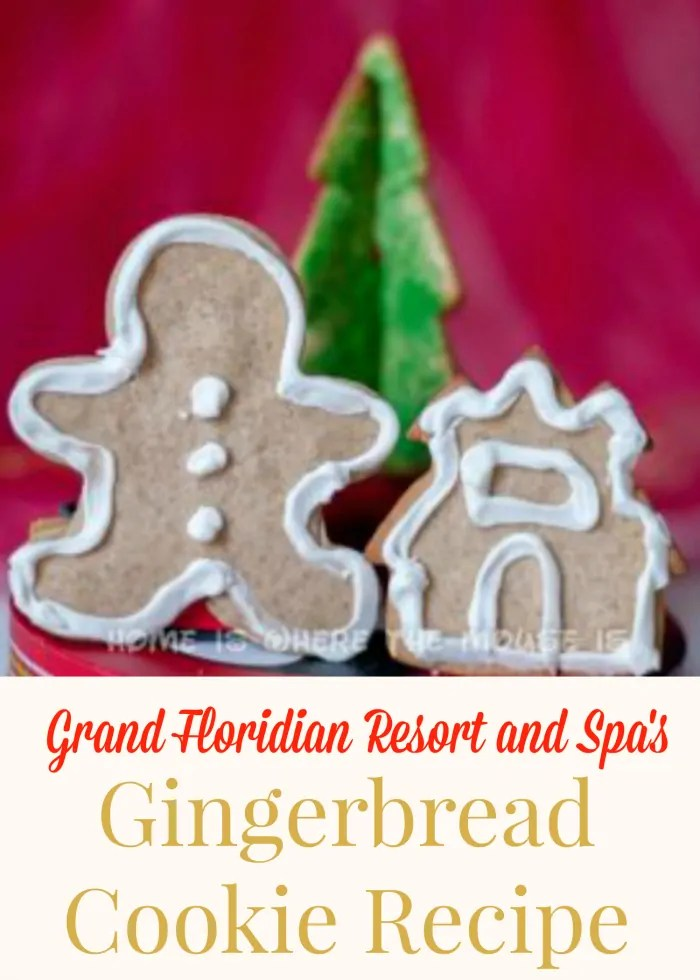 Authentic Gingerbread Cookie Recipe from Disney's Grand Floridian Resort and Spa