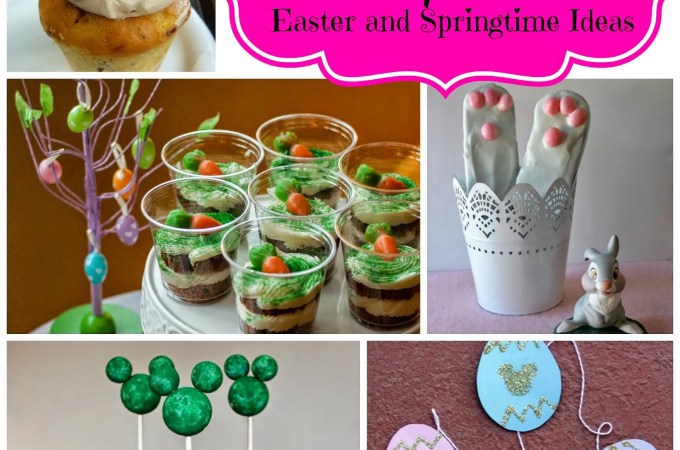 15 Disney-themed Easter and Springtime Ideas