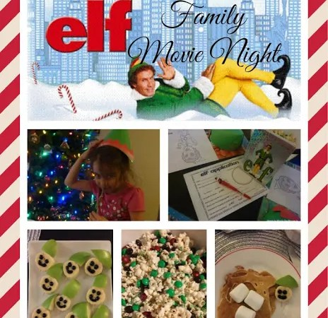 Elf Holiday Family Movie Night
