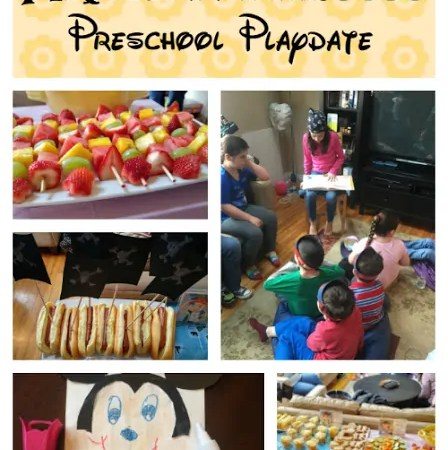 #DisneyKids Pirate and Princess Preschool Playdate {Sponsored}