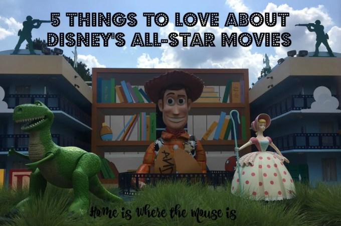 5 Things to Love about Disney's All Star Movies