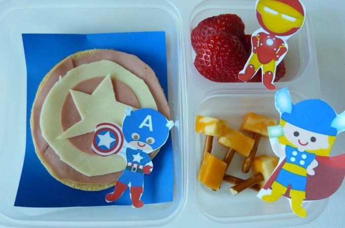 Kid-Approved Themed Lunches for Back to School
