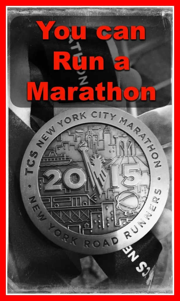 You can run the New York City Marathon
