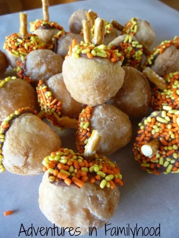 doughnut-acorns