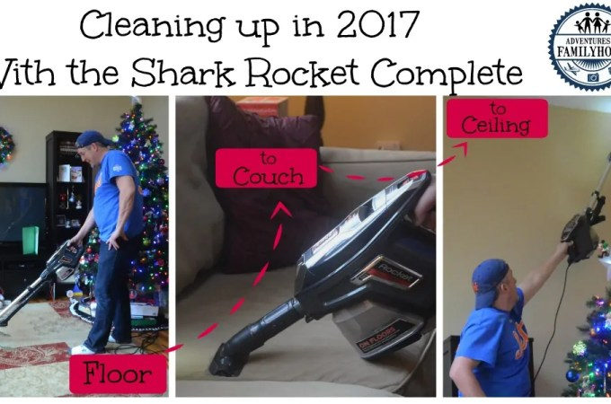 Cleaning Up In 2017 with the Shark Rocket Complete