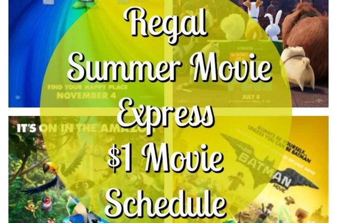 Regal Summer Movie Express