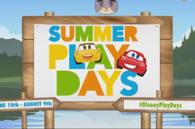 Collect Emoji Patches at Disney Store Summer Play Days
