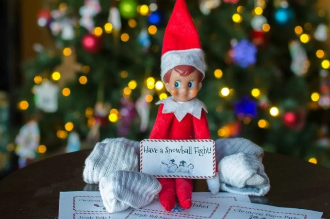 24 Days of Play with The Elf on the Shelf