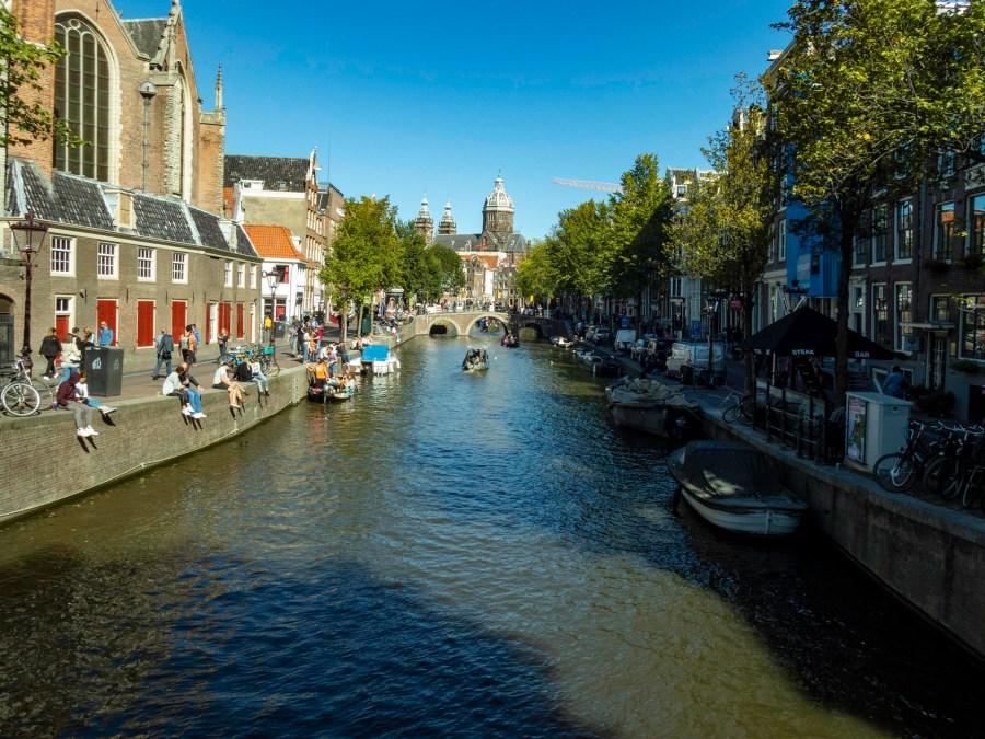 Canal, Amsterdam, Netherlands