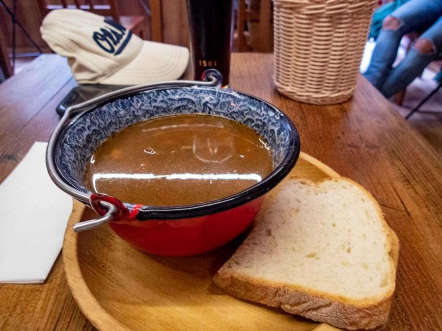 Goulash, The Drum Cafe, Budapest, Hungary