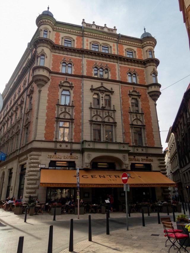 Central Cafe, Budapest, Hungary