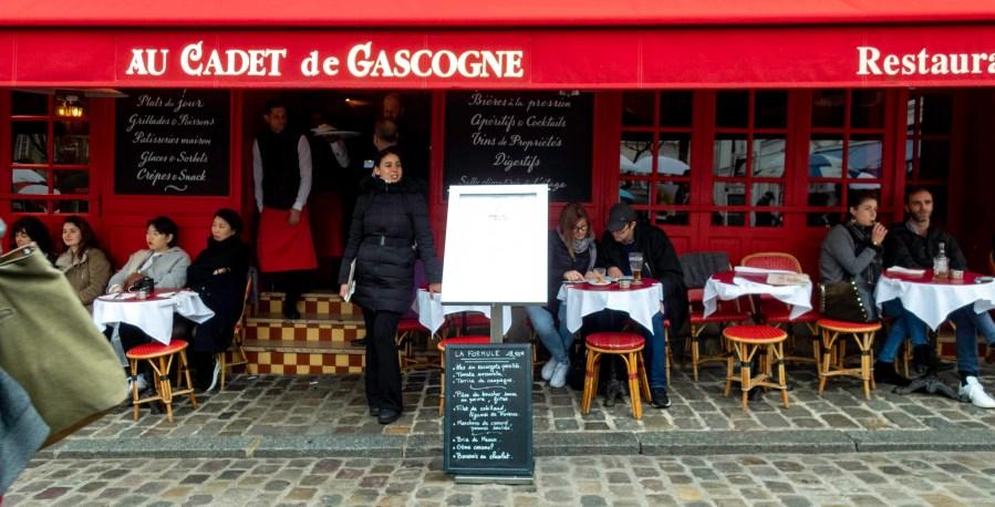 Café, Montmartre, Paris