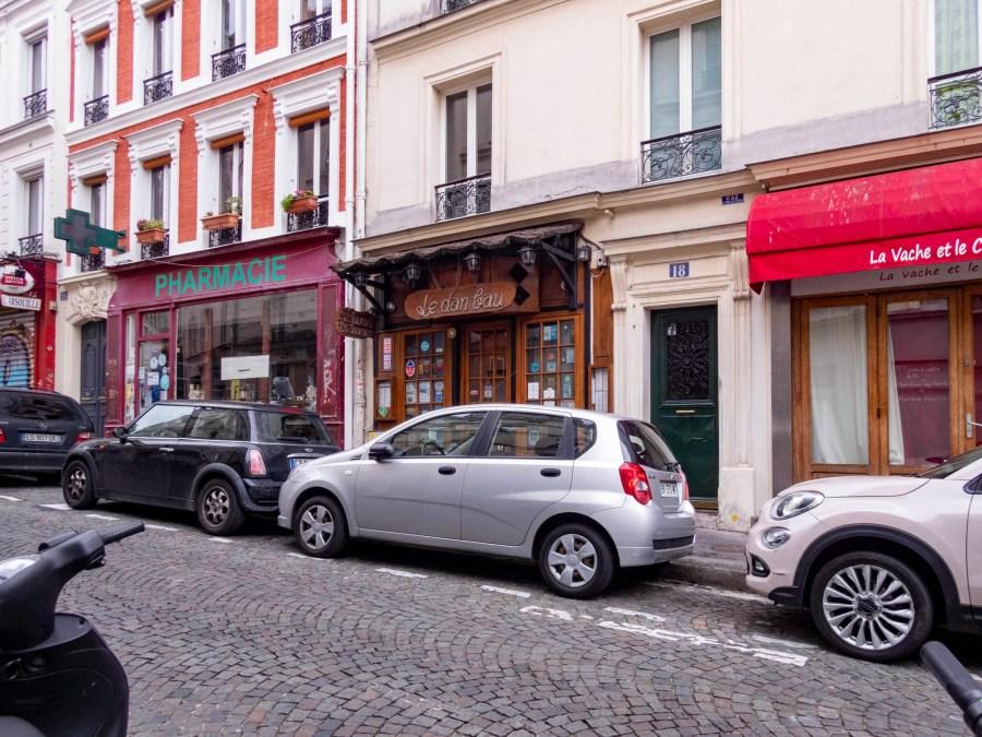 Le Dan Bau Restaurant, Paris