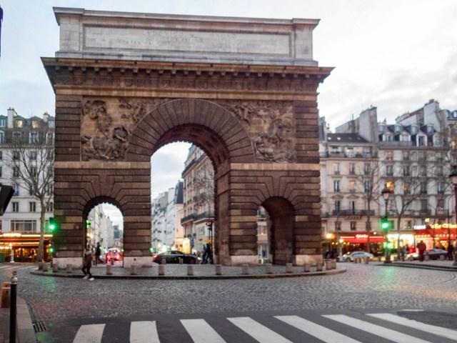 Porte Saint-Martin, Paris