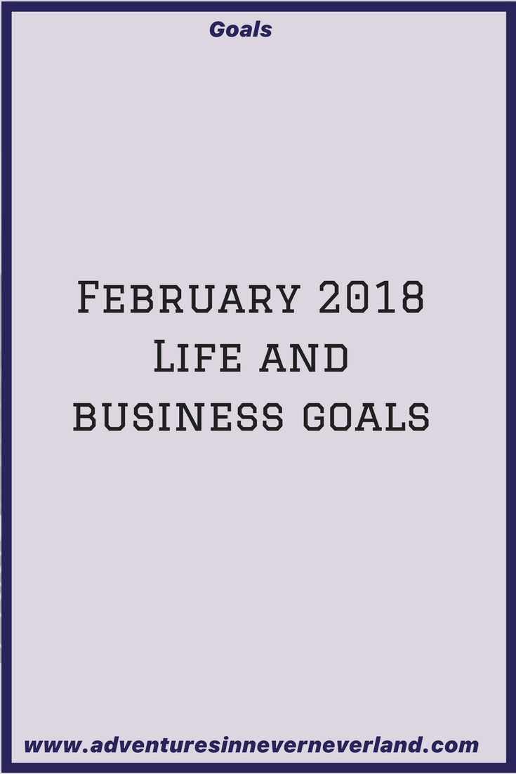 click through to see what my February 2018 #goals are!!
