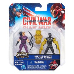 Hasbro-2.5in-Miniverse-Team-vs-Team-2pk-Black-Panther-vs-Hawkeye