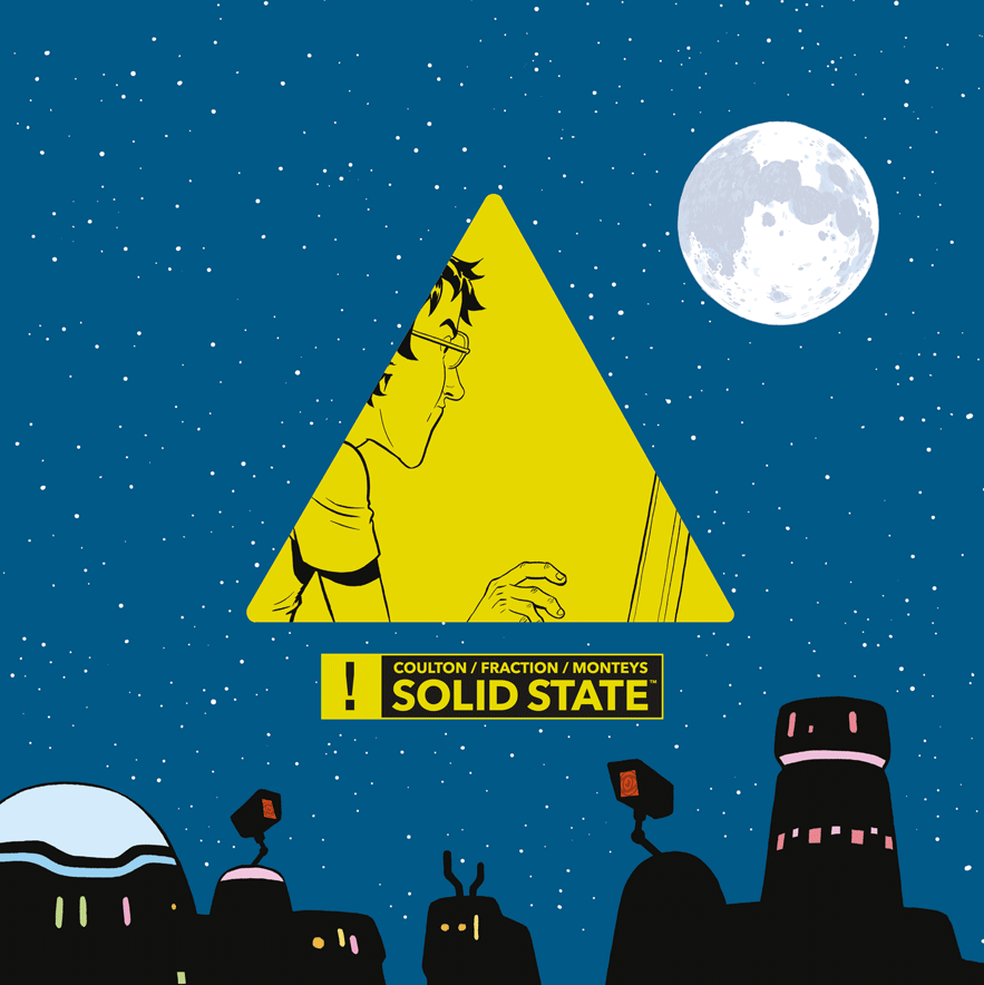 Matt Fraction's 'Solid State' is a delightfully terrifying vision of the future