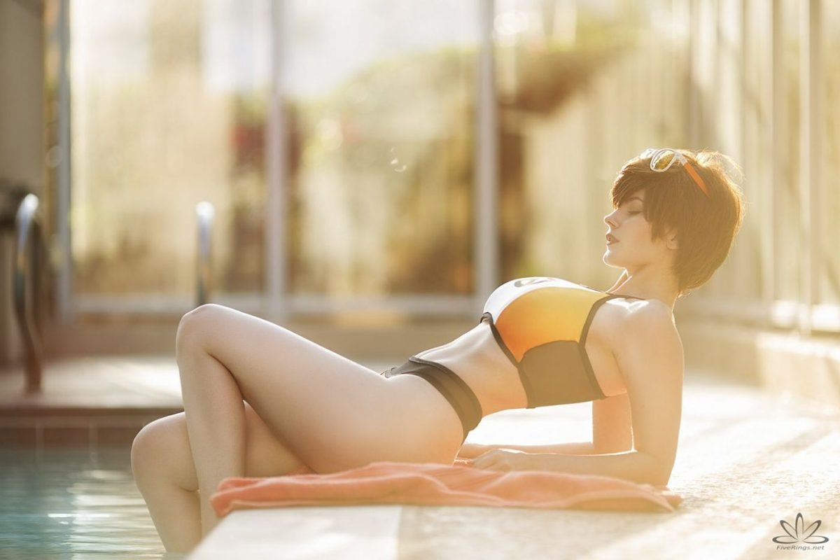 Overwatch: Poolside Tracer by Emily Aurelia