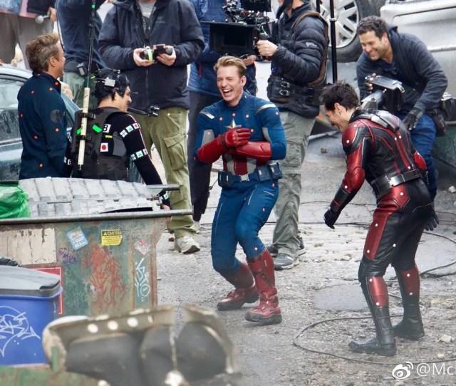 Leaked Avengers  Set Photos Reveal Potentially Huge Plot Twist Aipt