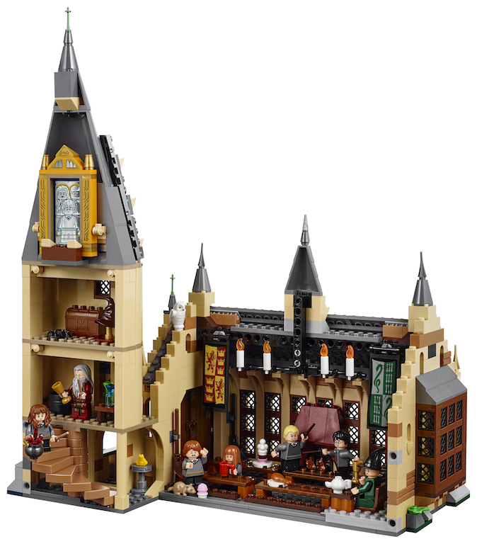 LEGO plans to make Harry Potter, Hogwarts and 'Wizarding World' sets starting in 2018