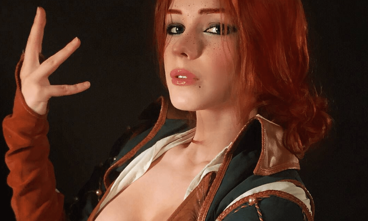 The Witcher 3: Triss Merigold cosplay by Irine Meier