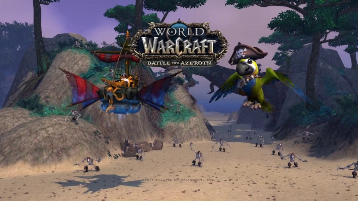 World of Warcraft: Get a floating pirate ship mount for pre-paying 180 days of game time
